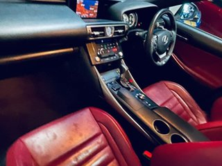 2014 Lexus IS GSE31R IS350 F Sport White 8 Speed Sports Automatic Sedan