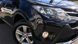 2013 Toyota RAV4 ASA44R Cruiser AWD Black 6 Speed Sports Automatic Wagon.