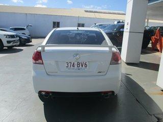 2008 Holden Commodore VE MY09 SV6 White 5 Speed Automatic Sedan.