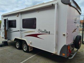 2008 Jayco Sterling Caravan.