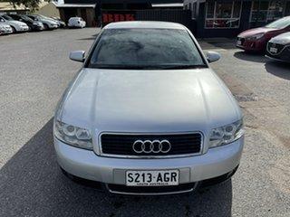 2002 Audi A4 B6 Multitronic Silver 1 Speed Constant Variable Sedan.