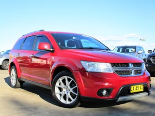 2014 Dodge Journey JC MY14 R/T Red 6 Speed Automatic Wagon.
