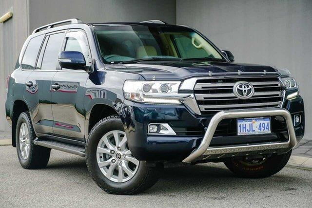 Used Toyota Landcruiser VDJ200R VX Osborne Park, 2017 Toyota Landcruiser VDJ200R VX Blue 6 Speed Sports Automatic Wagon