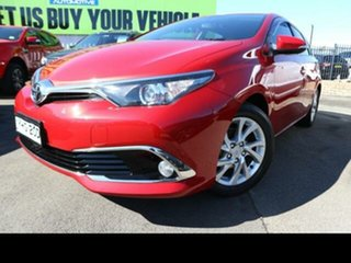 2017 Toyota Corolla ZRE182R MY15 Ascent Sport Red 7 Speed CVT Auto Sequential Hatchback.