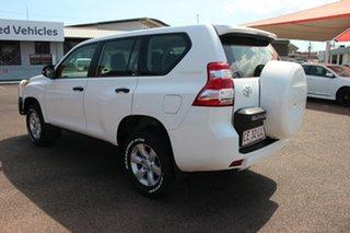 2014 Toyota Landcruiser Prado KDJ150R MY14 GX Glacier White 6 Speed Manual Wagon