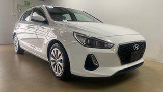 2018 Hyundai i30 PD Go White 6 Speed Auto Sequential Hatchback.