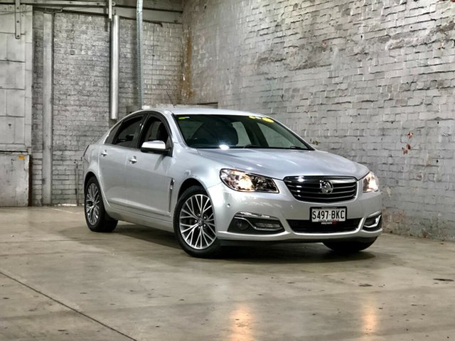 Used Holden Calais VF II MY16 Mile End South, 2016 Holden Calais VF II MY16 Silver 6 Speed Sports Automatic Sedan