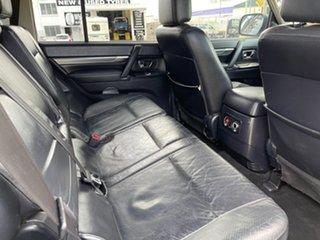 2008 Mitsubishi Pajero NS Exceed White 5 Speed Sports Automatic Wagon