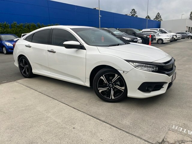 Used Honda Civic 10th Gen MY18 RS Aspley, 2018 Honda Civic 10th Gen MY18 RS White 1 Speed Constant Variable Hatchback