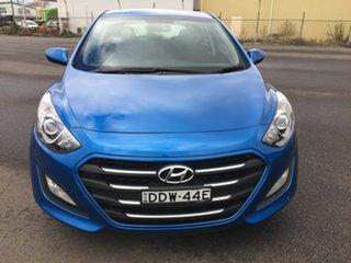 2016 Hyundai i30 GD4 Series II Active Blue Sports Automatic Dual Clutch.
