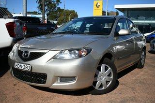 2007 Mazda 3 BK MY06 Upgrade Neo Gold 4 Speed Auto Activematic Sedan.