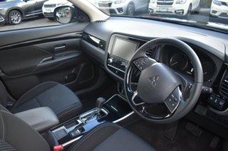 2020 Mitsubishi Outlander ZL MY20 ES 2WD Black 6 Speed Constant Variable Wagon