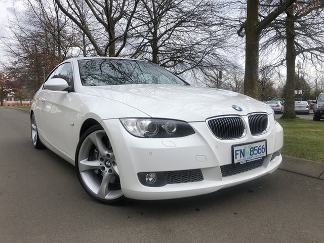 Used BMW 3 Series E92 335i Steptronic Launceston, 2007 BMW 3 Series E92 335i Steptronic White 6 Speed Sports Automatic Coupe