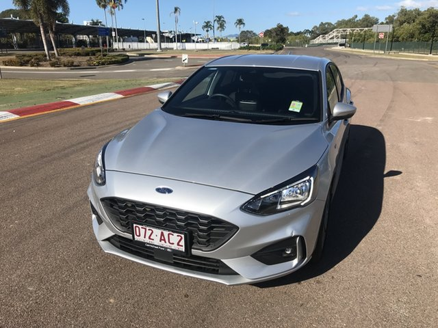 Used Ford Focus SA 2019.75MY ST-Line Townsville, 2019 Ford Focus SA 2019.75MY ST-Line Moondust Silver 8 Speed Automatic Hatchback