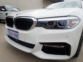 2017 BMW 520d F10 MY17 M Sport Polar White 8 Speed Automatic Sedan.