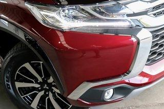 2018 Mitsubishi Pajero Sport QE MY18 GLS Maroon 8 Speed Sports Automatic Wagon.