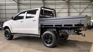 2008 Toyota Hilux KUN26R MY08 SR White 5 Speed Manual Cab Chassis