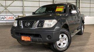 2007 Nissan Navara D40 ST-X 4x2 Grey 6 Speed Manual Utility.