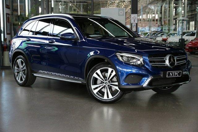 Used Mercedes-Benz GLC-Class X253 809MY GLC250 d 9G-Tronic 4MATIC North Melbourne, 2018 Mercedes-Benz GLC-Class X253 809MY GLC250 d 9G-Tronic 4MATIC Blue 9 Speed Sports Automatic