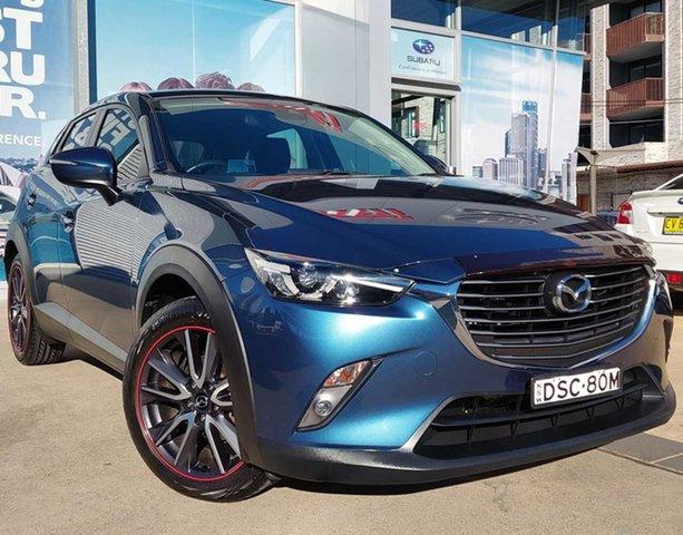 Used Mazda CX-3 DK MY17.5 S Touring (FWD) Rosebery, 2017 Mazda CX-3 DK MY17.5 S Touring (FWD) Blue 6 Speed Automatic Wagon