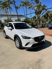 2021 Mazda CX-3 F Maxx Sport White 6 Speed Automatic Wagon.