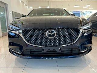 2021 Mazda 6 GL1033 Atenza SKYACTIV-Drive Blue 6 Speed Sports Automatic Sedan