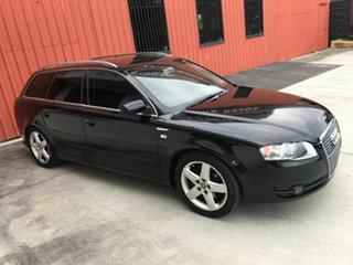 2006 Audi A4 B7 Avant Multitronic Black 7 Speed Constant Variable Wagon