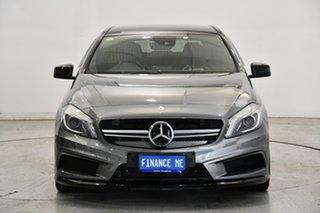 2014 Mercedes-Benz A-Class W176 A45 AMG SPEEDSHIFT DCT 4MATIC Grey 7 Speed.