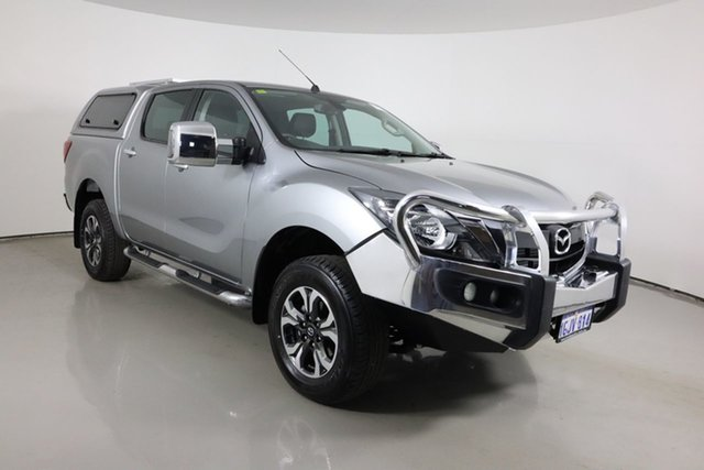 Used Mazda BT-50 MY17 Update GT (4x4) Bentley, 2017 Mazda BT-50 MY17 Update GT (4x4) Silver 6 Speed Automatic Dual Cab Utility