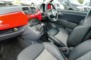 2010 Fiat 500 Series 1 Sport Red 6 Speed Manual Hatchback