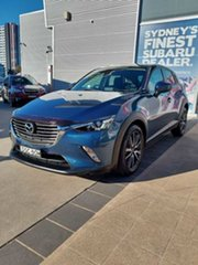 2017 Mazda CX-3 DK MY17.5 S Touring (FWD) Blue 6 Speed Automatic Wagon