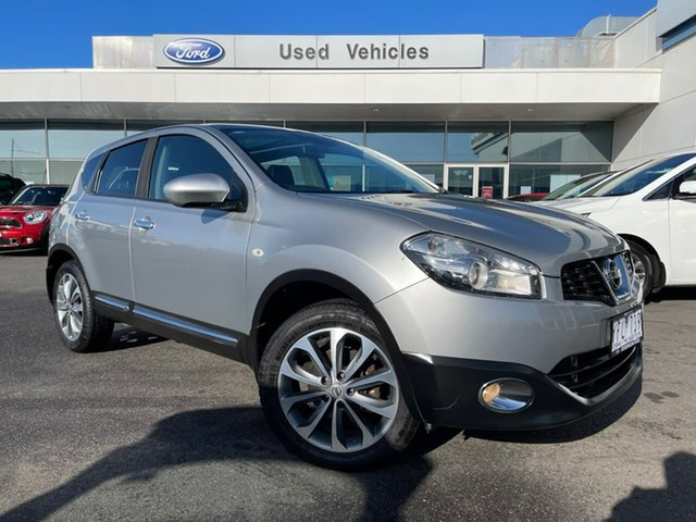Used Nissan Dualis J10 Series II MY2010 Ti X-tronic AWD Essendon Fields, 2011 Nissan Dualis J10 Series II MY2010 Ti X-tronic AWD Grey 6 Speed Constant Variable Hatchback