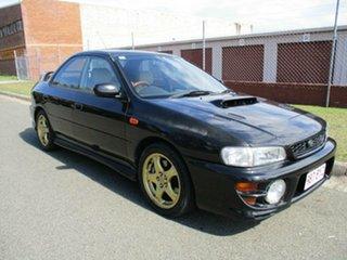 2000 Subaru Impreza N MY00 WRX AWD Special Edition Black 4 Speed Automatic Sedan.