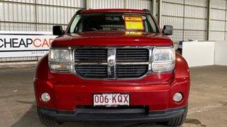 2007 Dodge Nitro KA MY07 SXT Red 5 Speed Sports Automatic Wagon