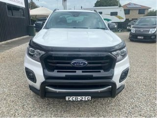 2019 Ford Ranger PX MkIII MY19.75 Wildtrak 3.2 (4x4) White 6 Speed Automatic Double Cab Pick Up.