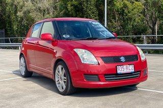 2010 Suzuki Swift EZ 07 Update Red 5 Speed Manual Hatchback.