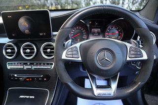2018 Mercedes-Benz GLC-Class X253 GLC63 AMG SPEEDSHIFT MCT 4MATIC+ S Obsidian Black 9 Speed