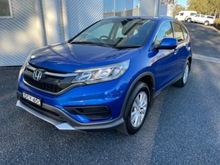 2015 Honda CR-V RM Series II MY16 VTi Blue 5 Speed Automatic Wagon.