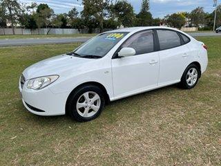 2006 Hyundai Elantra XD MY05 White 4 Speed Automatic Sedan