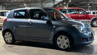2010 Suzuki Swift RS415 Grey 4 Speed Automatic Hatchback.