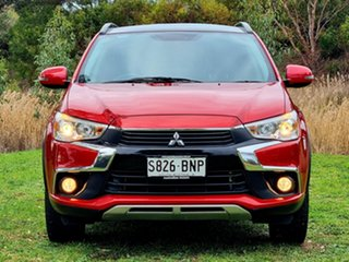 2016 Mitsubishi ASX XC MY17 XLS 2WD Red 6 Speed Constant Variable Wagon.