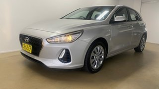 2018 Hyundai i30 PD Go Silver 6 Speed Auto Sequential Hatchback