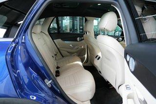 2018 Mercedes-Benz GLC-Class X253 809MY GLC250 d 9G-Tronic 4MATIC Blue 9 Speed Sports Automatic