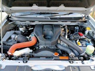 2018 Isuzu D-MAX MY18 LS-M Crew Cab Silver 6 Speed Manual Utility