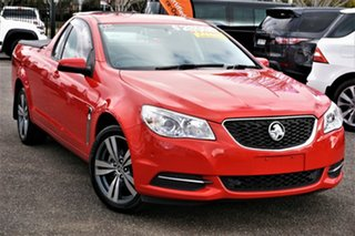2014 Holden Ute VF MY14 Ute Red 6 Speed Sports Automatic Utility.