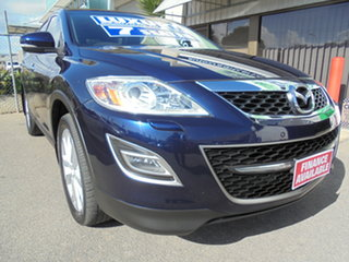 2012 Mazda CX-9 TB10A5 Grand Touring Activematic AWD Blue 6 Speed Sports Automatic Wagon.