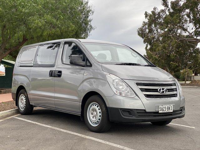 Used Hyundai iLOAD TQ3-V Series II MY17 Crew Cab Nailsworth, 2016 Hyundai iLOAD TQ3-V Series II MY17 Crew Cab Silver 5 Speed Automatic Van