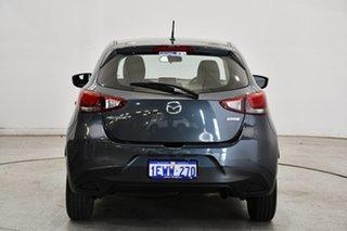 2015 Mazda 2 DJ2HA6 Maxx SKYACTIV-MT Graphite 6 Speed Manual Hatchback