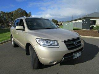 2007 Hyundai Santa Fe CM MY07 SLX CRDi (4x4) Gold 5 Speed Automatic Wagon.