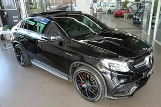 2019 Mercedes-Benz GLE-Class C292 MY809 GLE63 AMG Coupe SPEEDSHIFT PLUS 4MATIC S Black 7 Speed